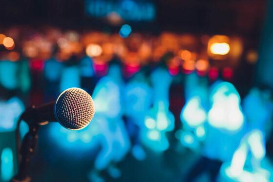 Comedy Show standup fliped